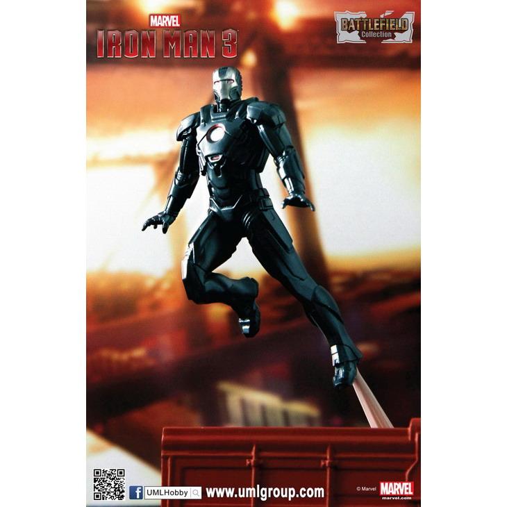 Iron Man Mark 16 Nightclub 1 24 Iron Man 3 Mark 16